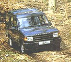 Bring your own vehicle like this Discovery to learn safe off-road driving